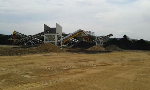 Yıldırım Grup A.Ş. Sahip Olduğu 140 t/h Kömür Eleme Tesisi Kolombiya Şantiyesinde Teslim Edilmiştir.
