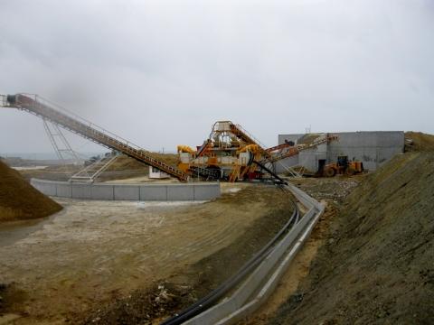 Kuzey İstanbul Modern İnşaat San. A.Ş. 400 t/h Kapasiteli 3 Adet Kum Eleme, Yıkama Ve Susuzlandırma Tesisi Teslim Edilmiştir.