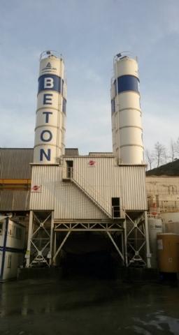 Akdağlar Madencilik San. ve Tic. A.Ş. Sahip Olduğu 120 m³/h Beton Santrali Kemerburgaz / İstanbul Şantiyesinde Üretime Başlamıştır.