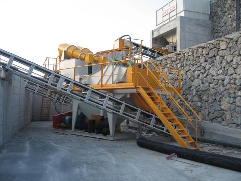 Meva İnşaat Ltd. Şti.'nin Sahibi Olduğu 200 Ton/saat Kum Yıkama Ve Susuzlandırma Tesisi Üretime Başlamıştır.