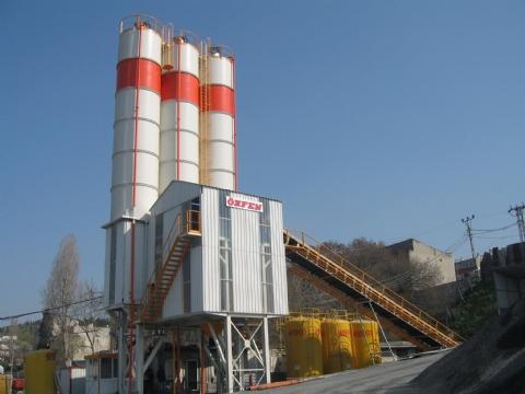 Ulubeton İnş. ve Taah. San. Tic. Ltd. Şti.'nin Sahibi Olduğu 120-130 m³/saat Yaş Sistem Sabit Hazır Beton Santrali Altınşehir / İstanbul Şantiyesinde Üretime Başlamıştır.