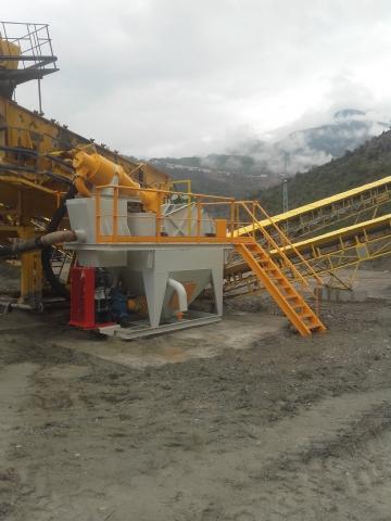 Deriner Beton Enerji İnşaat San. İç Ve Dış Tic. A.ş.'nin Sahibi Olduğu 60 Ton/saat Kum Yıkama Ve Susuzlandırma Tesisi Üretime Başlamıştır.