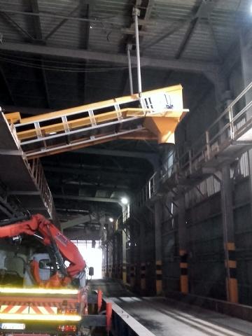 Rota Liman Hizmetleri A.Ş. Kocaeli Tesisi İçin İmalatı Yapılan Konveyörler Çalışır Halde Teslim Edilmiştir.