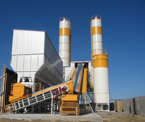 Zofunlar Hazır Beton Mad. İnş. Malz. San. Tic. Ltd. Şti. 'nin Sahip Olduğu 120 M³/h Sabit Beton Santrali Kırklareli Şantiyesinde Üretime Başlamıştır.