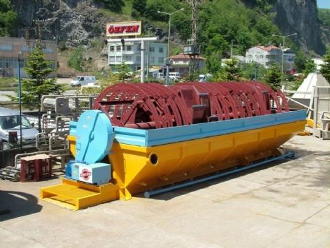 Kovalı Kum Ayırma Makinası